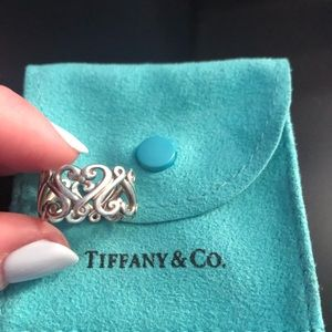 Tiffany& Co sterling silver ❤️ ring